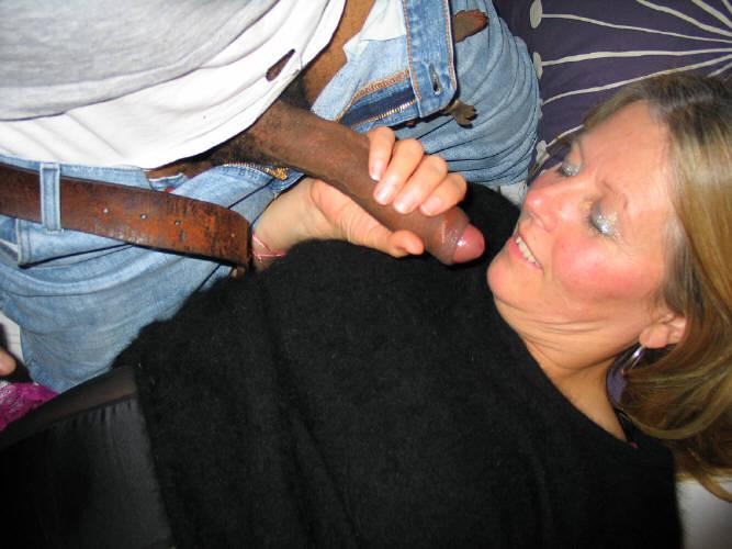Sucking Huge Black Cock Pov